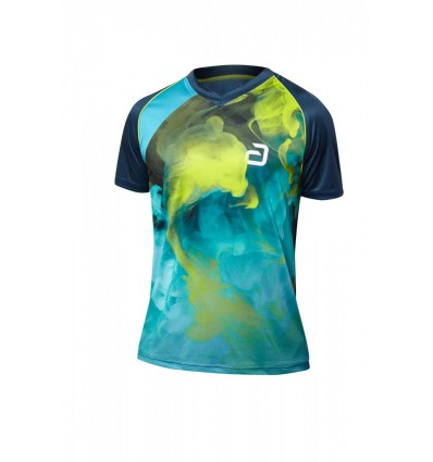 ANDRO T-SHIRT KANE BLUE/LIME