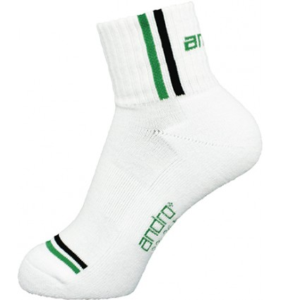 Andro Sock Game white/green