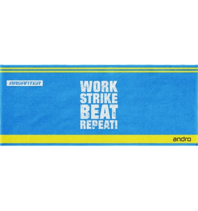 Andro Towel WSBR blue/yellow