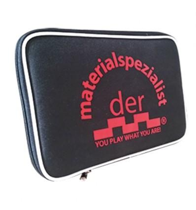 der materialspezialist Single Wallet black/red