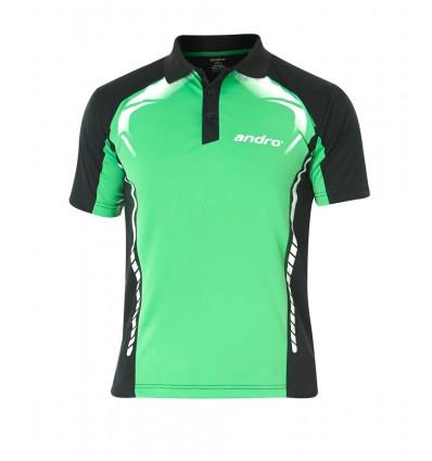 andro shirt deimos green/black