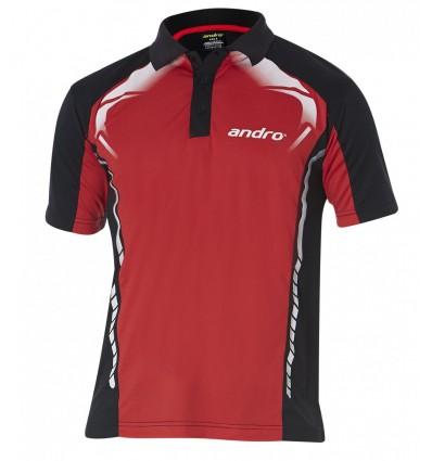 andro shirt Deimos red/black