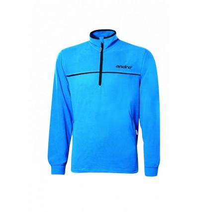 andro training fleece black/blue
