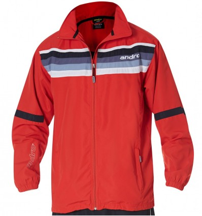 andro jacket Laredo red/nightblue