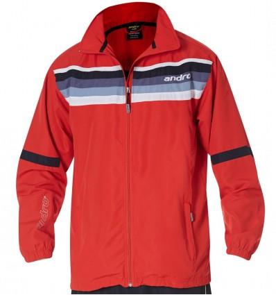 andro jacket Laredo red/nightblue