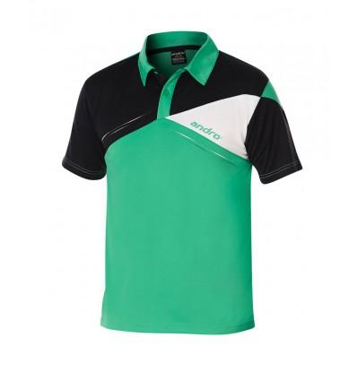 andro shirt Conor black/blue