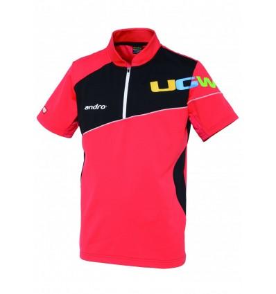 andro shirt angus red