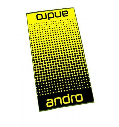 ANDRO TOWEL DOTS YELLOW/BLACK
